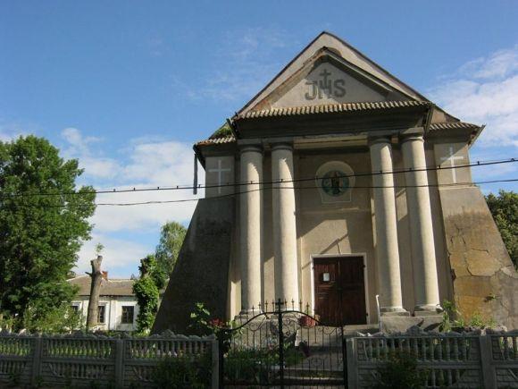 В радянські часи костел використовували в якості колгоспного складу.