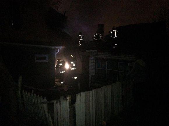 У центрі Вінниці сталася велика пожежа