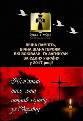 Фото Книга пам'яті полеглих за Україну.