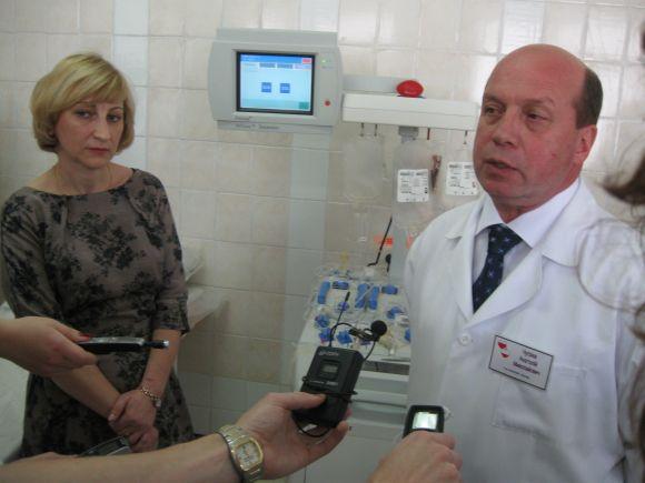 Головний лікар Житомирського обласного центру крові Анатолій Чугрієв