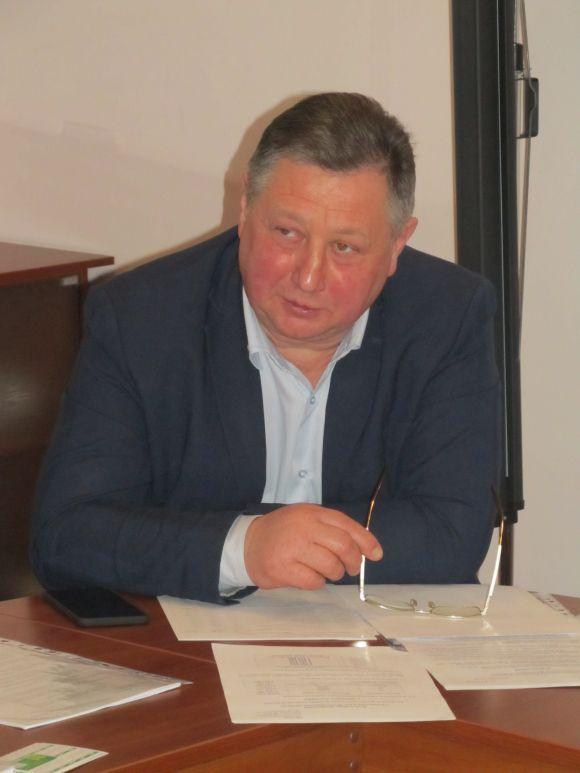 Керівник Управління охорони здоров'я Микола Суслик