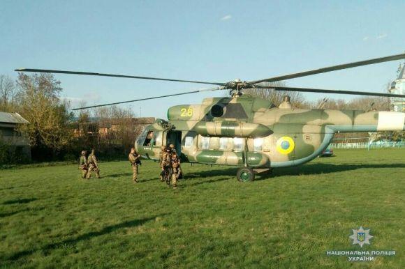 Перестрілка, вертоліт і група КОРД: яквизволяли заручницю на Вінниччині