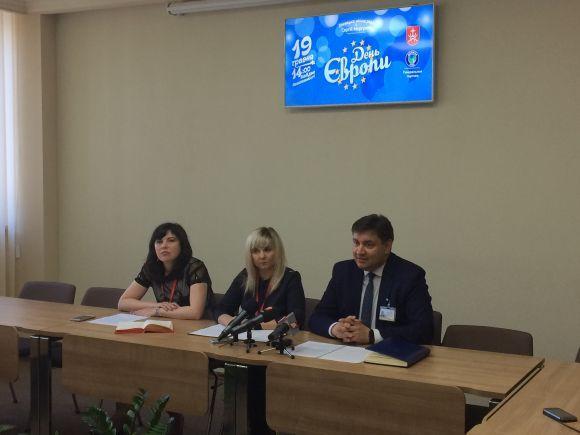 Прес-конференція з організаторами Дня Європи у Вінниці