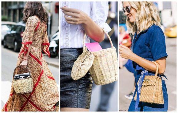 Плетена сумка цього літа буде дуже умісною