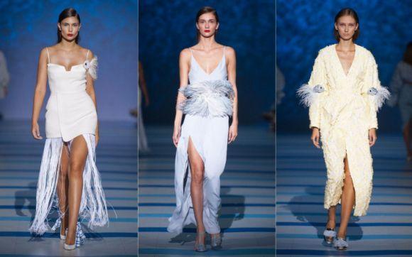 Сукні з пір'ям від Каті Сільченко
