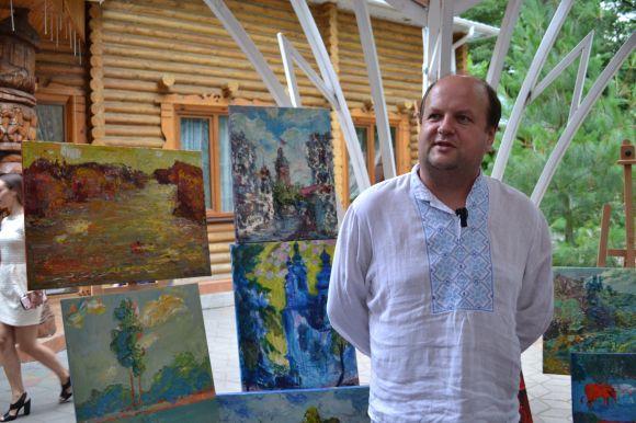 Віктор Бронюк теж оцінив художні таланти учасників