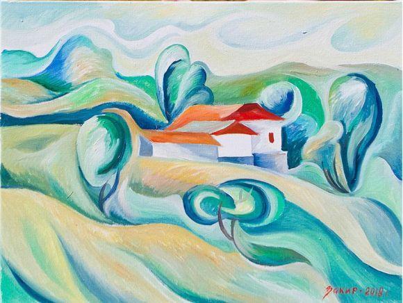 Картина Закіра Сабірова