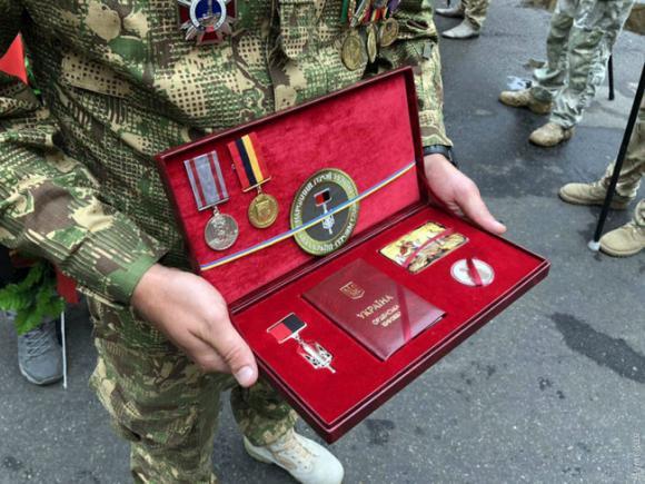 Одеса провела в останню путь воїна УДА, Народного героя України Володимира Галагана 04