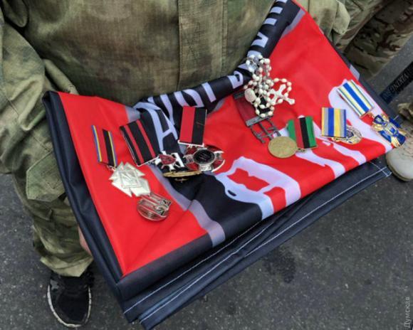 Одеса провела в останню путь воїна УДА, Народного героя України Володимира Галагана 03