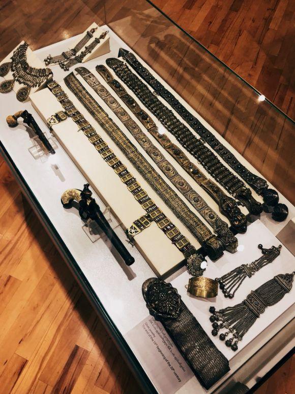 Экспонаты музея Аджарии в Батуми