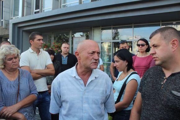 Жителі «Європейського кварталу» вимагають від влади вплинути на забудовника : 14:09:2018 - vn.20minut.ua