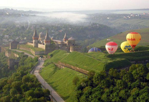 Фестиваль повітряних куль у Кам'янці–Подільському