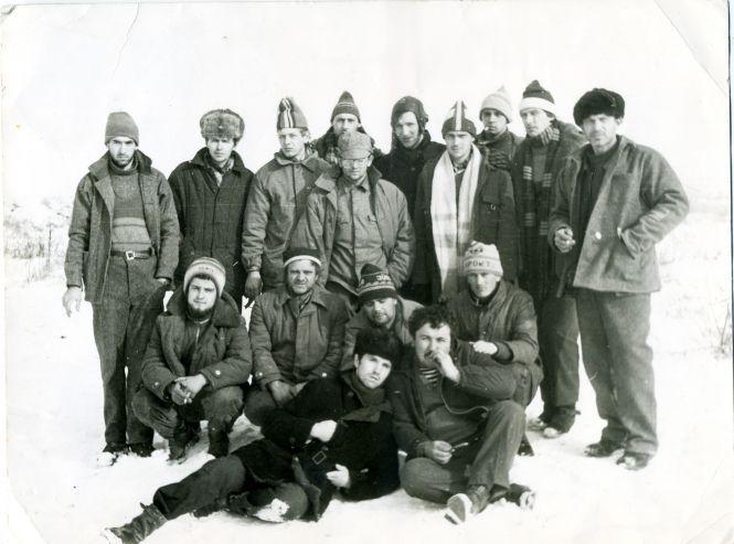 З подій 1988 року у Вірменії у Сергія Сінкевича залишилося лише одне фото. Він у другому ряді у темній спортивній шапці (другий праворуч). Тоді йому було 26 років