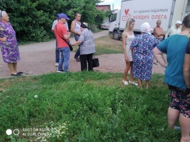 На Винниччине от имени главы фракции Тимошенко в облсовете раздавали курятину и пиццу (Фото), фото-1