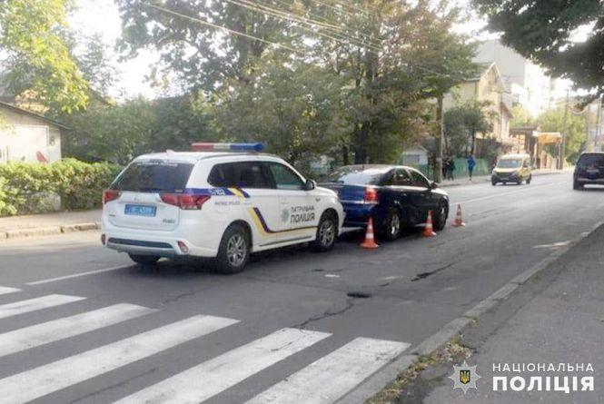 """У Хмельницькому 12-річний хлопчик потрапив під колеса """"Opel Vectra"""""""