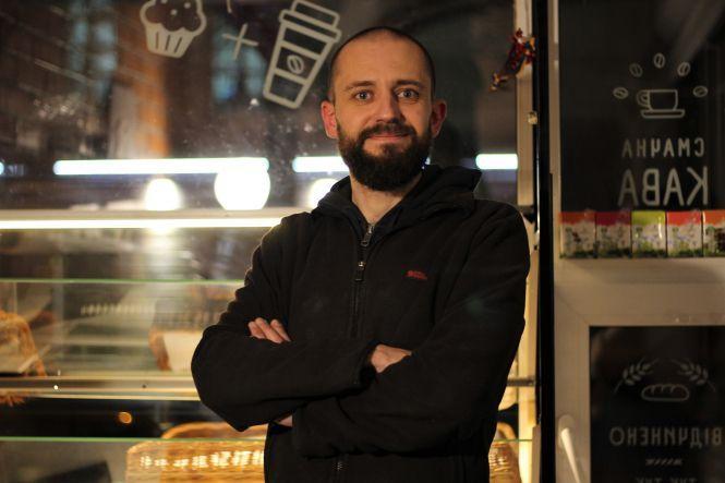 Олександр Подвойський, партнер пекарні