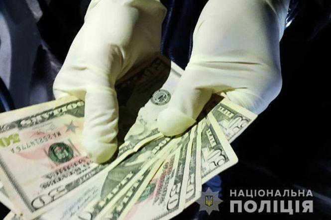 Як на Тернопільщині затримували поліцейського-хабарника (фото) : 12:02:2020  - te.20minut.ua