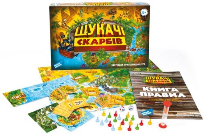 """Настільна гра """"Шукачі скарбів"""" (1206_UA) купити за низькою ціною в ..."""