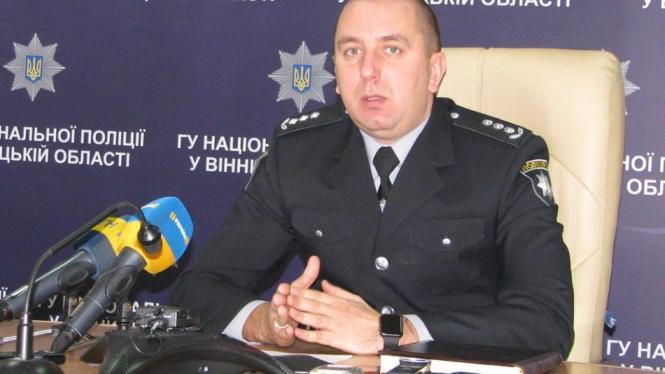 Начальником полиции Винницкой области назначен Юрий Педос | Реал ...