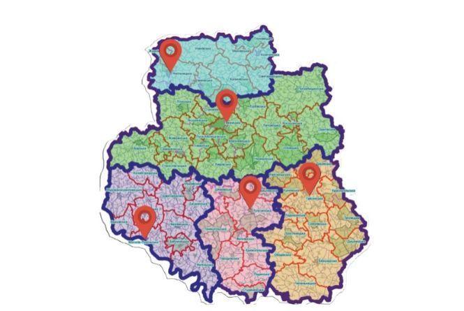 Буде п'ять районів. Кабміну пропонують новий поділ Вінницької області