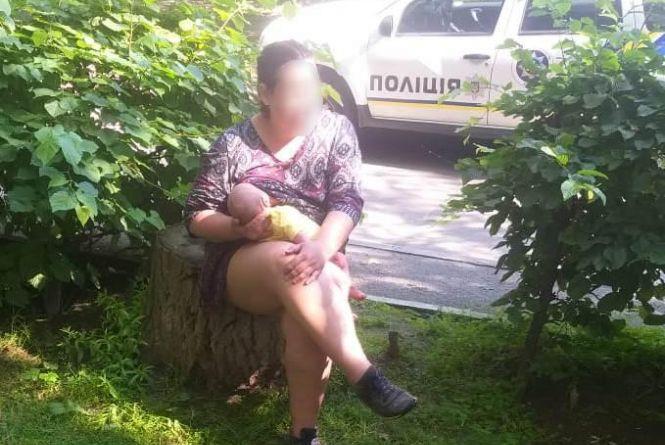 Шукали всю ніч. Знайшли жінку з грудним малям, які зникли 30 червня