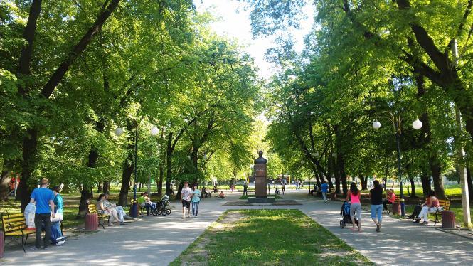 Парк імені Івана Франка (Хмельницький) — Вікіпедія