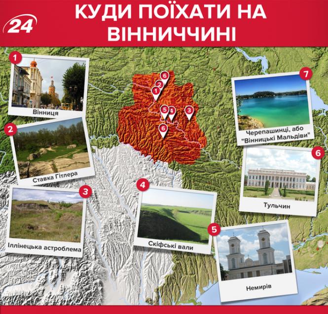 Вінницька область: які місця варто відвідати
