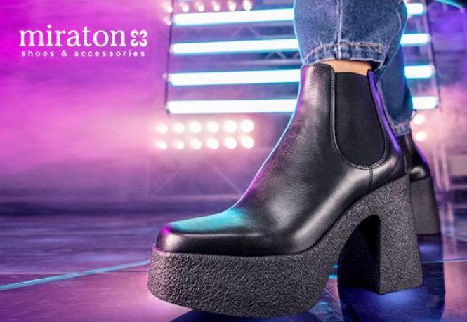 черевики на платформі