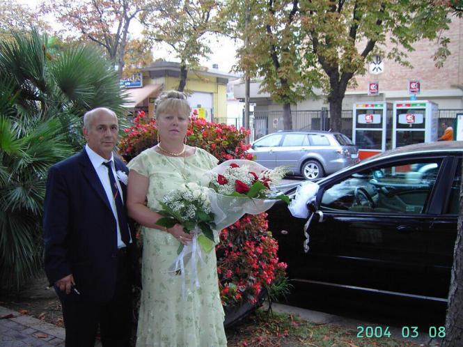 Весілля Віри й Джованні.