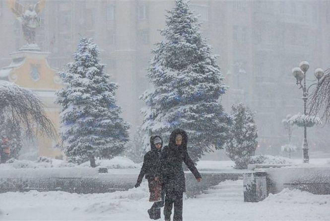В Україну сунуть снігопади. Синоптики оновили прогноз на найближчі дні
