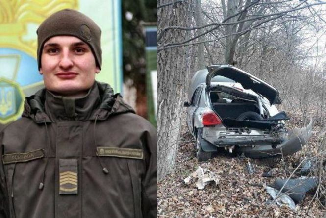«Коли везли в лікарню, бідкалася, що розбила батькову машину». Гвардієць врятував 19-річну дівчину