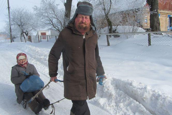 Заблудився нині Дід Мороз. А були зими такі, що птахи замерзали на льоту