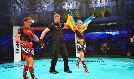 Житомирянка Анастасія Светківська стала чемпіонкою світу зі змішаних видів єдиноборств