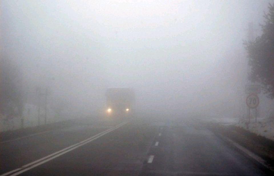 До уваги водіїв: вночі та завтра вранці очікується туман!