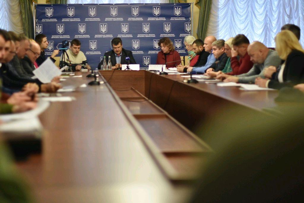 Відбулося засідання Громадської ради при ОДА