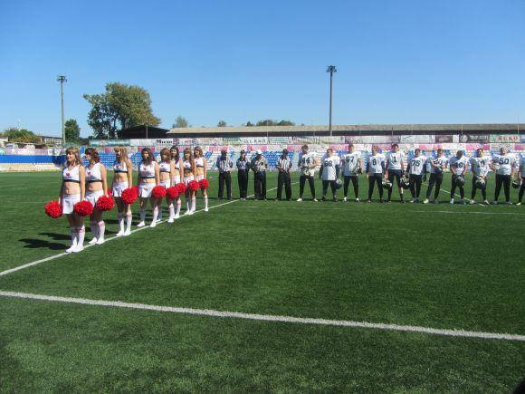Вінницькі Вовки перемогли Київських Витязів з рахунком 62:0