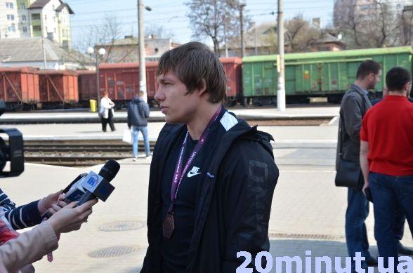 Тернопіль зустрів бронзового призера чемпіонату Європи Андрія Антонюка