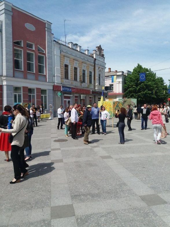 У Житомирі відзначили Всесвітній день вишиванки