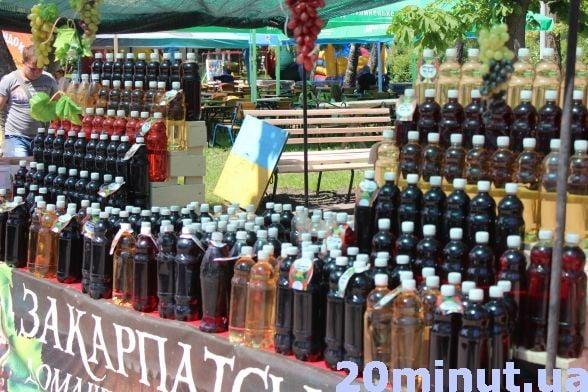 В парку Шевченка фест: продають пиво та закуски